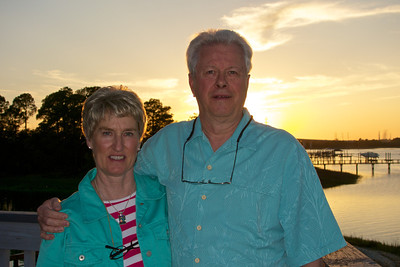 At the Sunset grill on Hilton Head Island