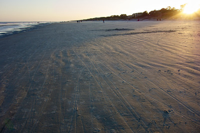 Several miles of open beach, Hilton Head Island