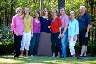 Georgia Portrait: L to R; Jane, Taylor, Dawn, Janea, Debbie, Michael, Donna, Jay
