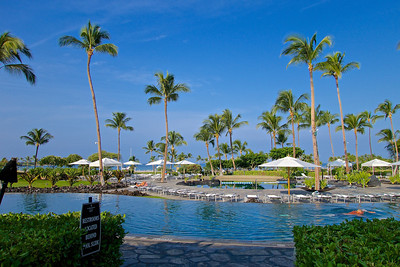 The Big Island, Hawaii. We stayed at the Marriott at Waikoloa Beach.