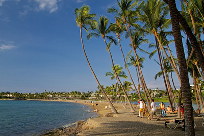 The Big Island, Hawaii. We stayed at the Marriott at Waikoloa Beach. The area around the Marriott.