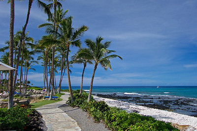 The Big Island, Hawaii. We stayed at the Marriott at Waikoloa Beach. Hiking along Waikoloa beach.