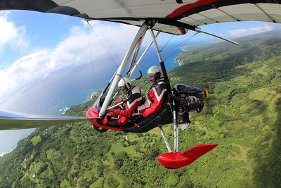 Powered Hang Gliding Flight