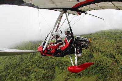 Powered Hang Glider Flight