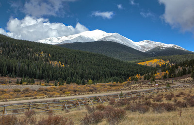 Mount Baldy near Boreas Pass
