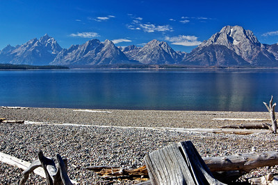 Taken at Signal Mountain Lodge area. Jackson Lake and the Tetons.