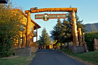 This is the resort we stayed at in Jackson WY.