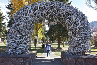 Taken in Historic downtown Jackson Hole.