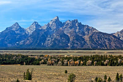 Tetons taken from Teton point lookout.