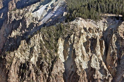The Grand Canyon of Yellowstone, looking downstream.