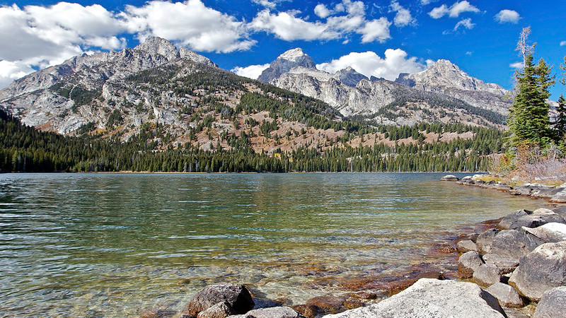 Taggert Lake hike In the Grand Tetons