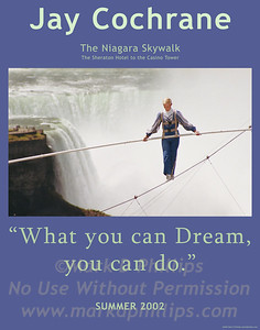 "Jay Cochrane ""Skywalk at Niagara"""