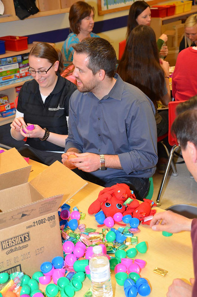 Jaycees Easter Egg Party Stuffing 2014