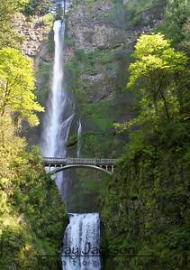 Multnomah Falls - Columbia River Gorge, Oregon