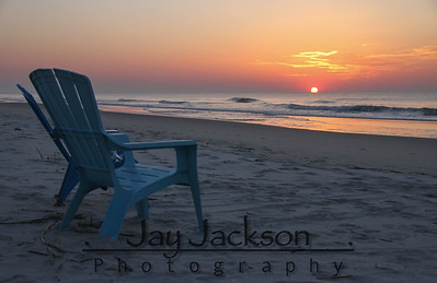 Perfect seating for a sunrise Murrell's Inlet, SC