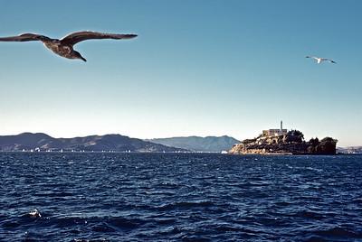Ferry trip to Alcatraz