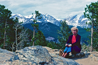 Dodie in Rocky Mountain National Park