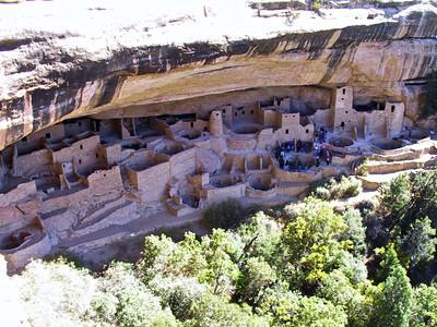 Mesa Verde National park in Southwest Colorado