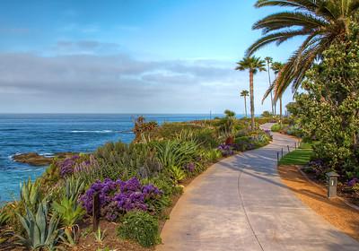 Laguna Beach walking path.