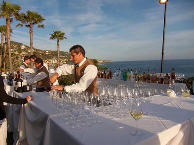 Montage Resort Laguna Beach California, happy hour!