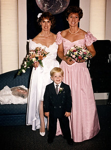 Donna, Shirley, and Mark Jr., Donna's grandson