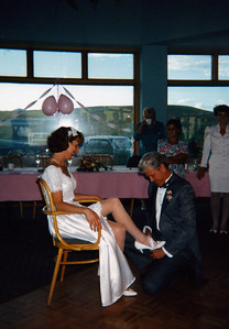 The garter removal