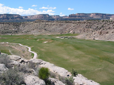 April 2003, western slope of Colorado, Redlands Mesa Golf course