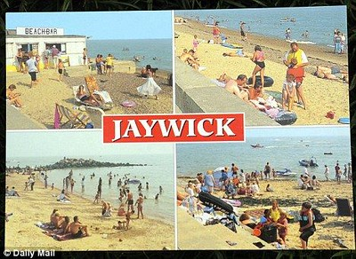 I have to say that the beaches we saw from Clacton all the way to Jaywick were really nice.