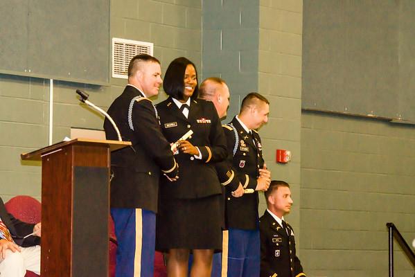 Jazmin R. McCrea PMA class of 65 Ceremony