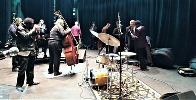 20171125 Giants of Jazz 20 Buster Williams Backstage