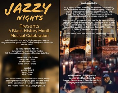 jazzy Nights Blacks History Month Celebration 202 by Gregory burrus