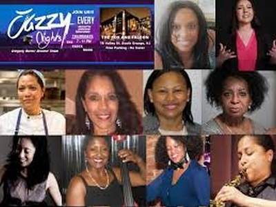 jazzy Nights Womens History Month Celebration 202 by Gregory burrus Wo Flyer