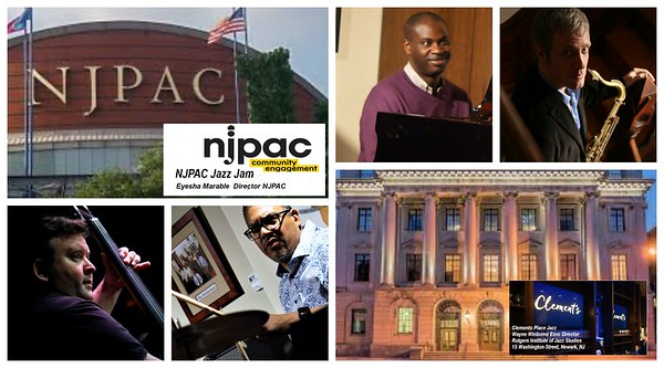 NJPAC JAZZ JAM AT clements place JAZZ BY GREGORY BURRUS