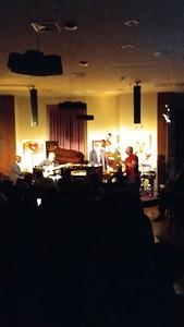 Tim Hagerty on Sax at NJPAC Jazz Jam by Greg Burrus
