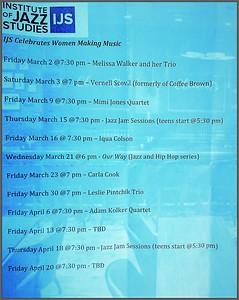 2018 Clements Place Jazz Evnts Schedule 1