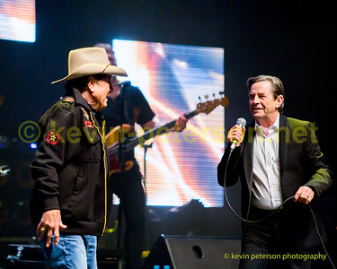 Molly Meldrum and John Paul Young