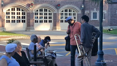 20170705 South Orange Farmers Market Jazz Jam 0236