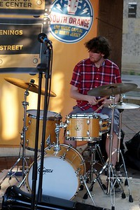20170719 South Orange Farmers Jam Peter Lin Trio  222