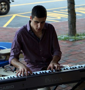 20170719 South Orange Farmers Jam Peter Lin Trio  268
