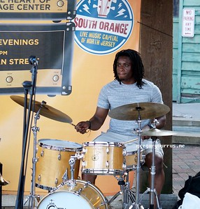 20170719 South Orange Farmers Jam Peter Lin Trio  258