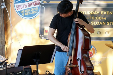 20170719 South Orange Farmers Jam Peter Lin Trio  218