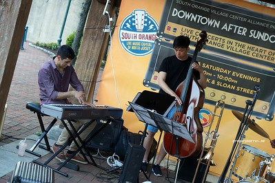 20170719 South Orange Farmers Jam Peter Lin Trio  262