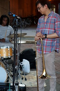 20170719 South Orange Farmers Jam Peter Lin Trio  244