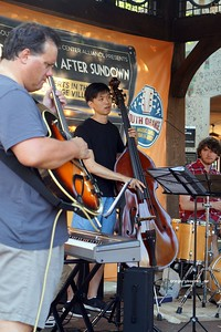 20170719 South Orange Farmers Jam Peter Lin Trio  226
