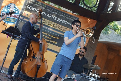 20170726  South Orange Farmers Jam Peter Lin Trio  206