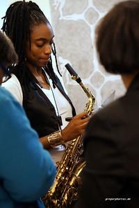 20170405 Jazzy Saxophonist LaKecia Benjamin Band WBGO  38 YR -056