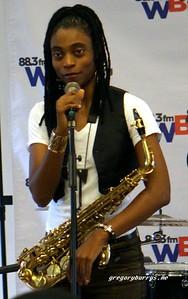 20170405 Jazzy Saxophonist LaKecia Benjamin Band WBGO  38 YR -048
