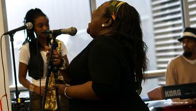 20170405 Jazzy Saxophonist LaKecia Benjamin Band WBGO  38 YR -038