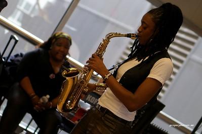 20170405 Jazzy Saxophonist LaKecia Benjamin Band WBGO  38 YR -034