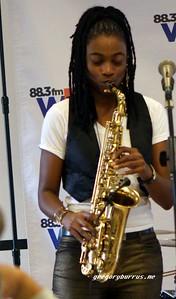 20170405 Jazzy Saxophonist LaKecia Benjamin Band WBGO  38 YR -053